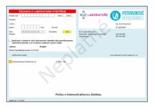 EUC Žádanka na vyšetření histaminové intolerance (potravinoveintolerance.cz)